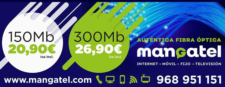 Nueva promoción Mangatel más megas y más velocidad