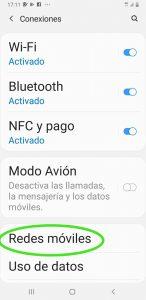 configurar apn móvil Iphone Mangatel La Manga Cabo de Palos Cartagena Murcia