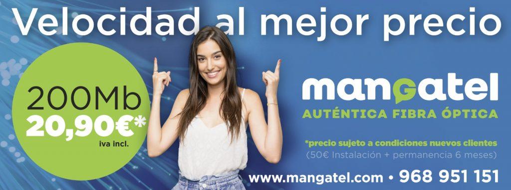 Las mejores Tarifas de Fibra óptica 200 Mb Mangatel La Manga Cabo de Palos Murcia Cartagena